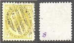 Canada Scott 81 Used VF (P)